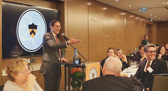 President Eisgruber in Israel