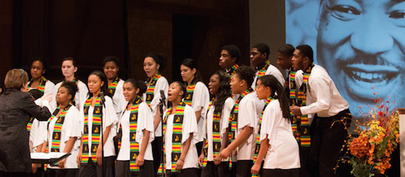 Trenton Children's Chorus at Princeton MLK Day