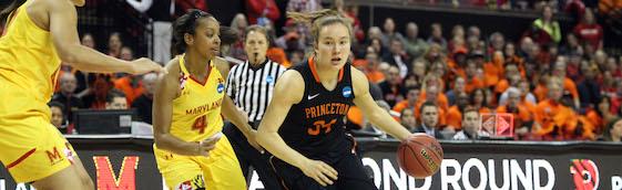 Princeton women's basketball vs. Maryland