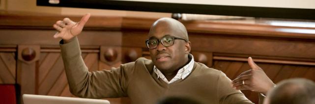 Photo of Jacob Dlamini teaching