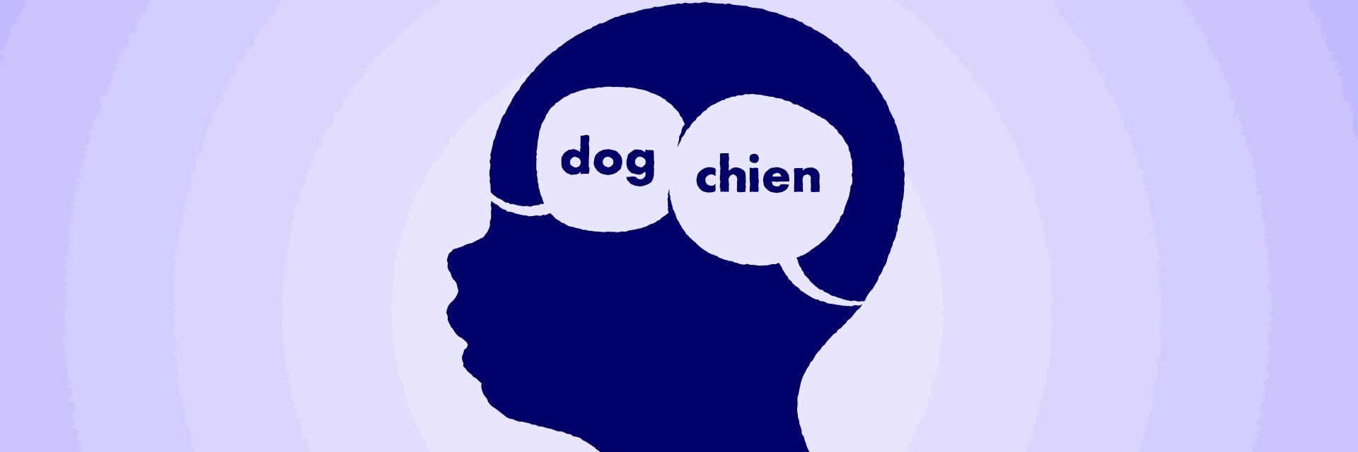 baby speech dog chien